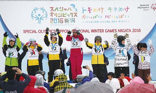 スペシャルオリンピック2016新潟