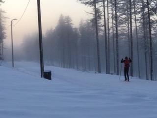 【2】タイヴァルコスキーのクロスカントリーコース