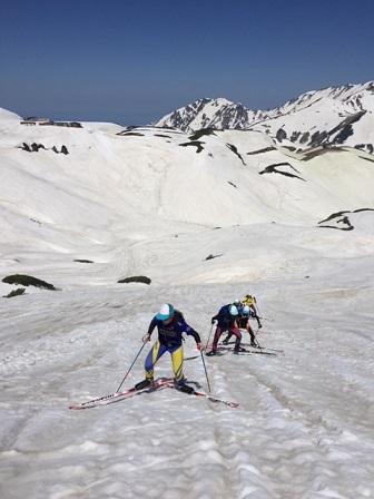 スキーツアー風景1