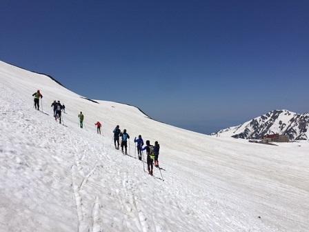 スキーツアー風景2
